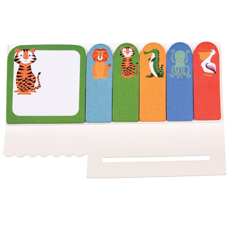 Rex london School Collection Colourful creatures mini memo Pads