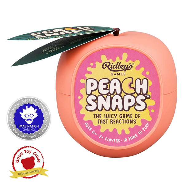 Ridley's Peach Snaps Card Game