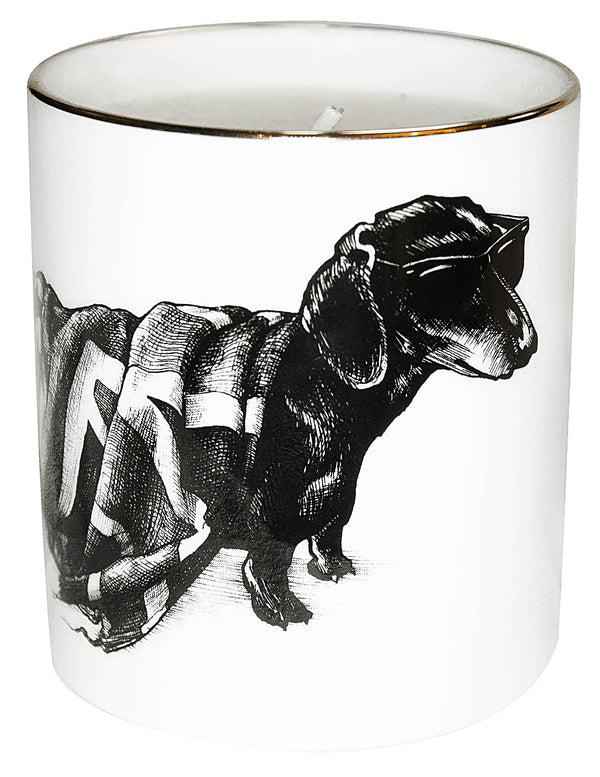 RORY DOBNER Hot dog cutesy candle