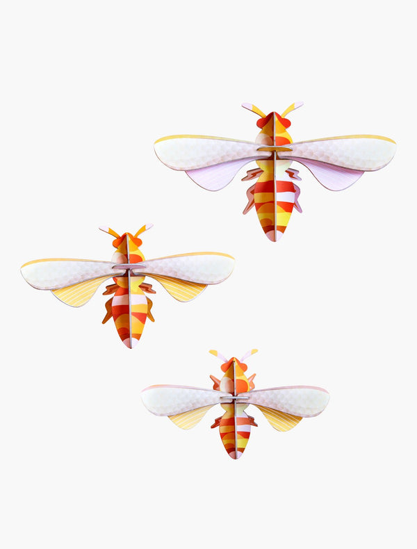Studio Roof Set of 3 Honey bees