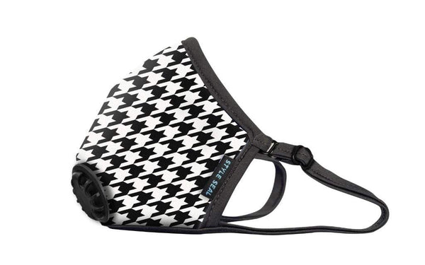 Styleseal houndstooth air mask