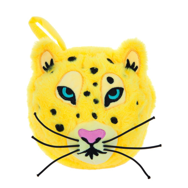 SUNNYLIFE exclusive collection leopard 2 in 1 travel pillow