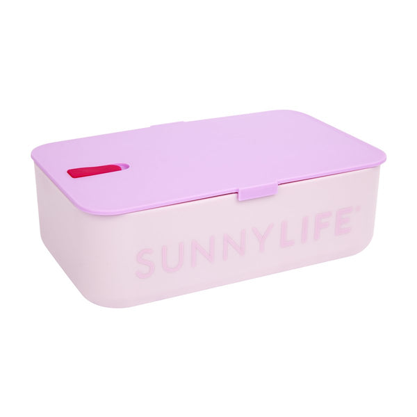 SUNNYLIFE exclusive collection lunch bag electric bloom pink