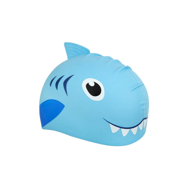 SUNNYLIFE exclusive collection Shaped Swimming Cap 3-9 Shark