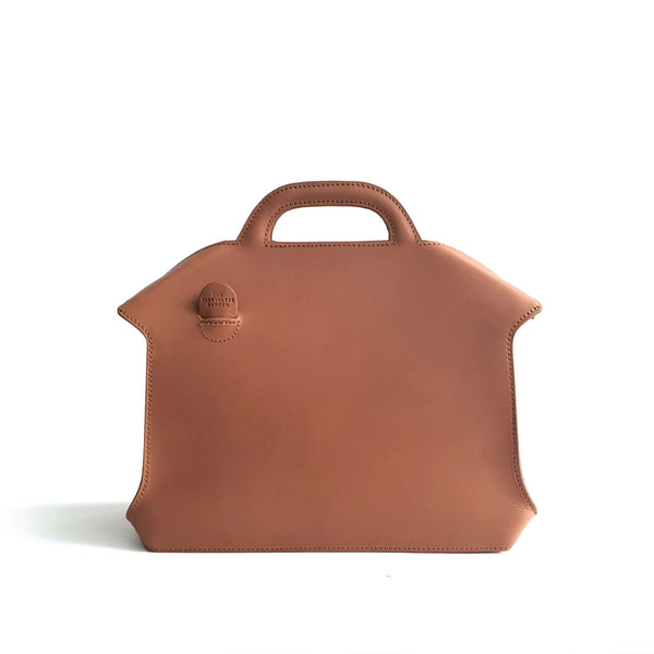 The Sleeveless Garden Ginyu leather handbag
