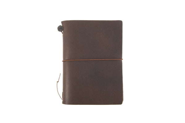 TRAVELER'S notebook Brown Passport Size