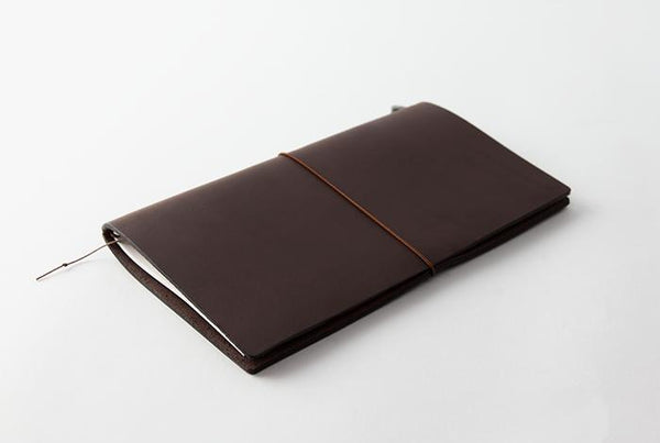 TRAVELER'S notebook Brown Regular Size