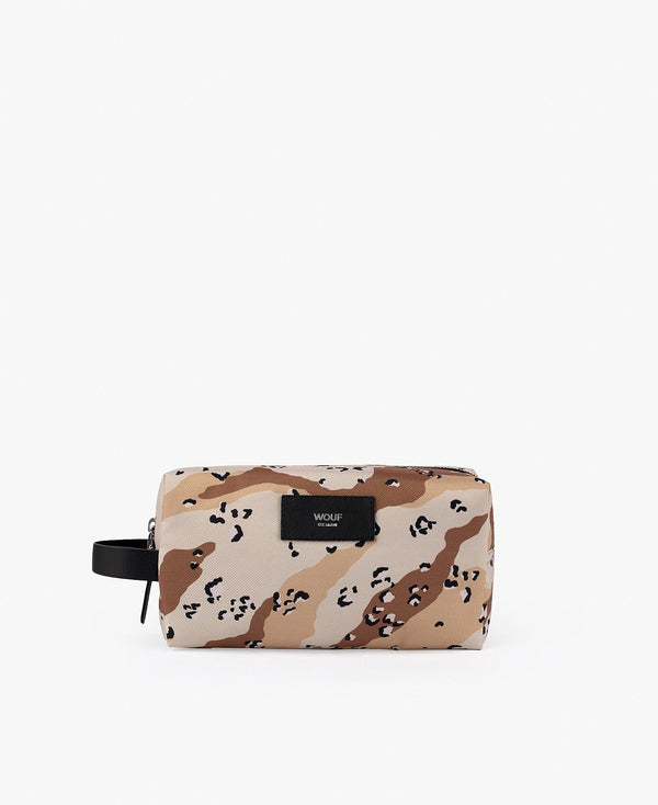 Wouf exclusive collection Camo Desert Travel Case