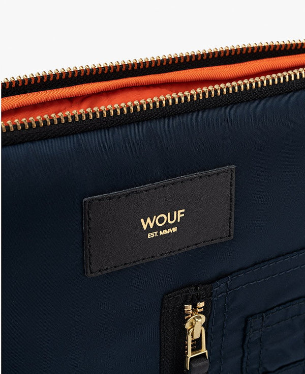 Wouf exclusive collection Navy Bomber iPad Sleeve