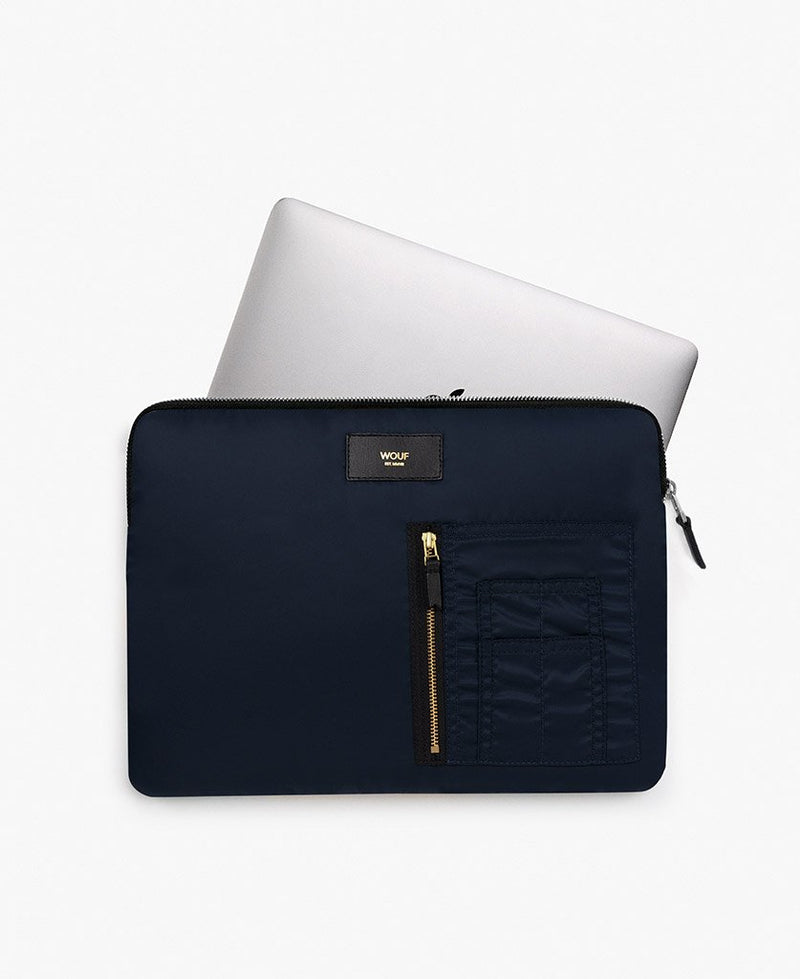 Wouf exclusive collection Navy Bomber Laptop Sleeve 13?