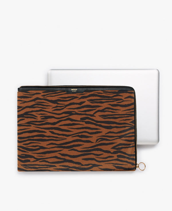 Wouf exclusive collection Tiger Laptop Sleeve 13""