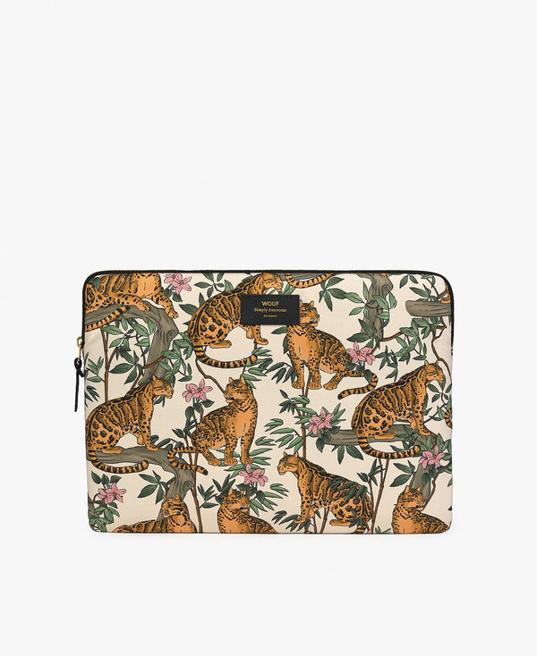 Wouf exclusive collection Lazy Jungle Laptop Sleeve 15?