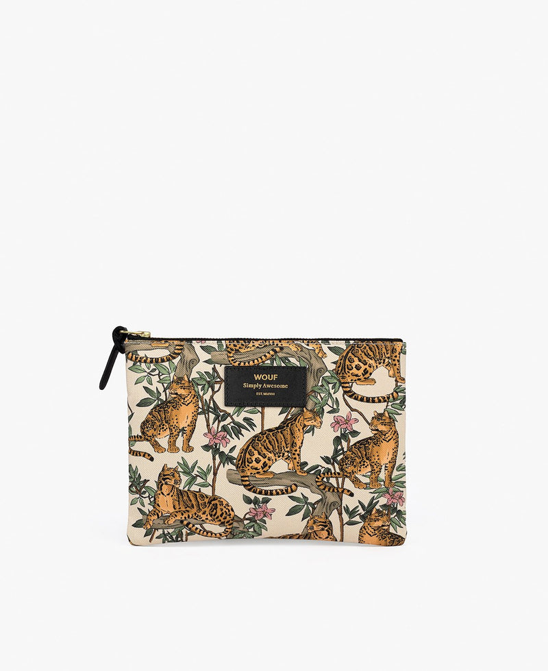 Wouf exclusive collection Lazy Jungle Large Pouch Bag