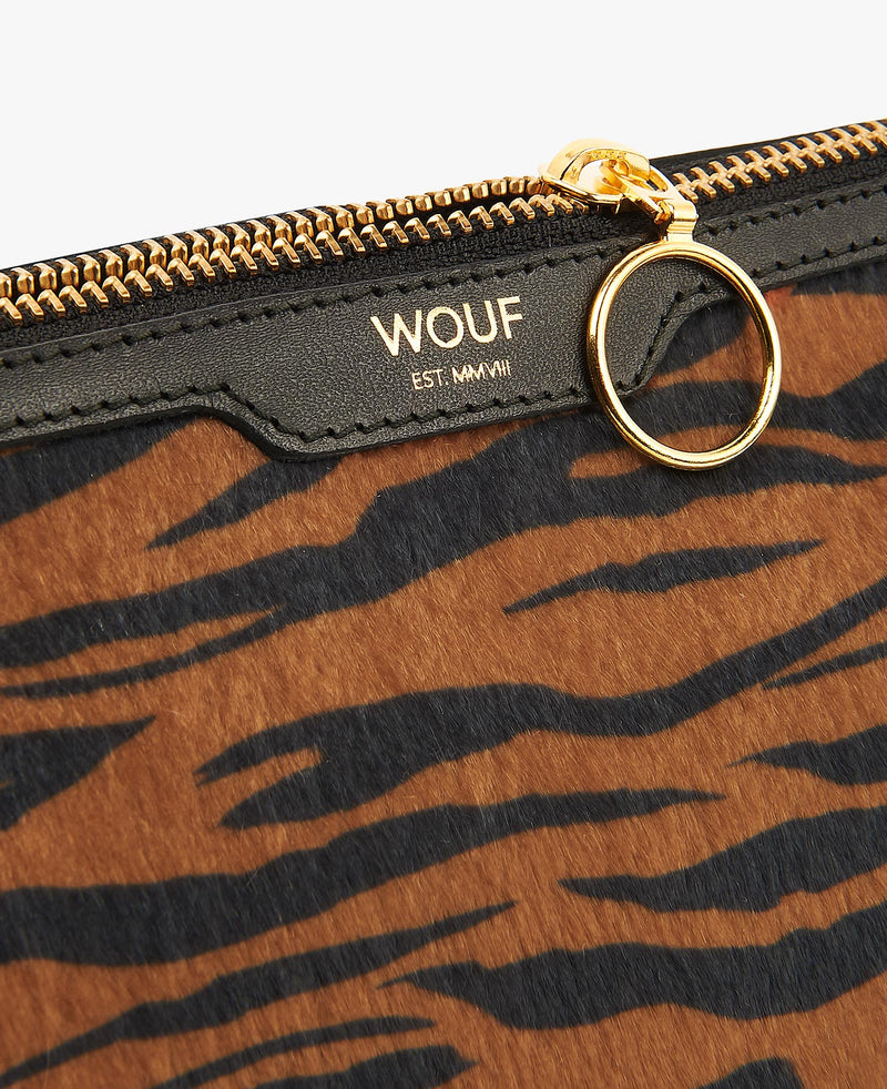 Wouf exclusive collection Tiger makeup bag