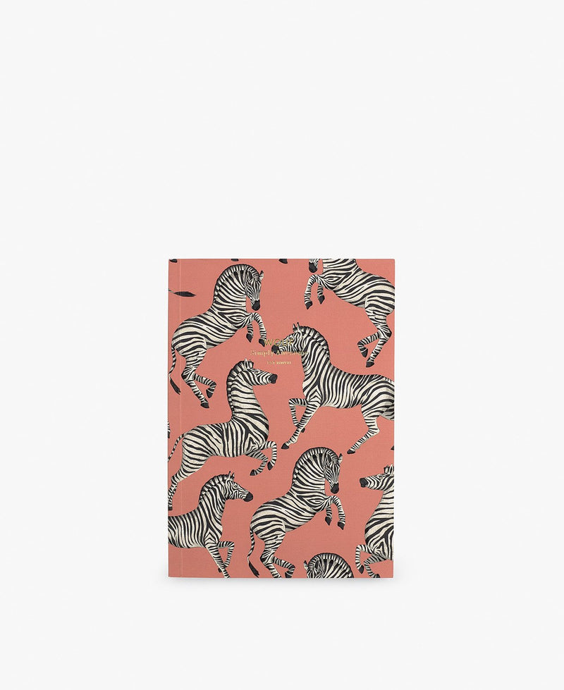 Wouf exclusive collection Zebra A5 Paper Notebook