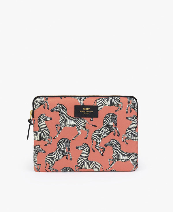 Wouf exclusive collection Zebra Ipad Sleeve