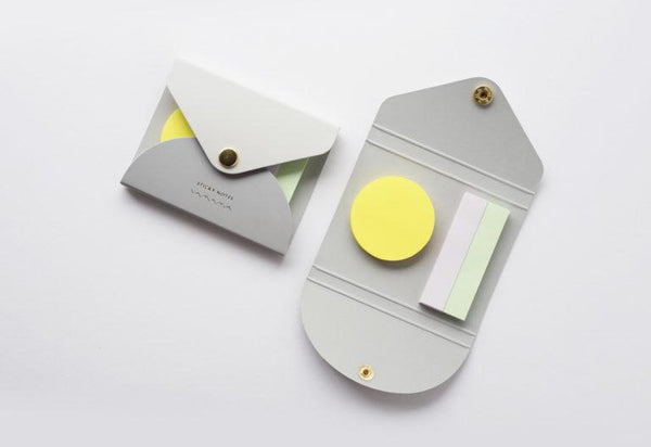 Yamama Color Sticky Notes Cover Gray
