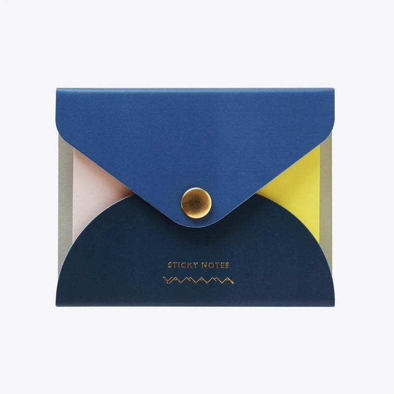 Yamama Color Sticky Notes Cover Navy
