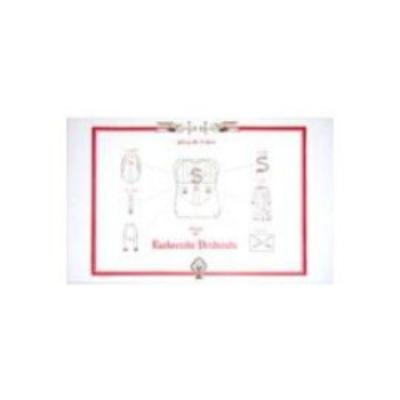 Eucharistic Vestments Layout Chart, Large