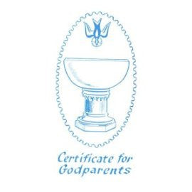 1979 White Godparent Certificate