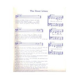 The Great Litany Music Cards