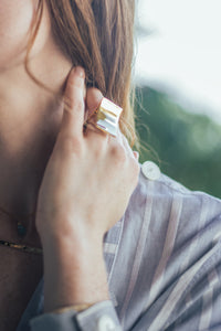 Anillo Luna. Angel Schlesser by Juliette Ghamra