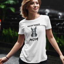 Load image into Gallery viewer, Boston Terrier Mom Premium Women's Relaxed T-Shirt