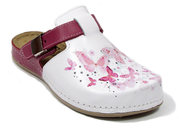 Dr Punto Rosso BRIL Y77 - White-Pink-Butterfly
