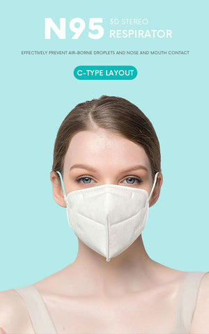 N95 disposable mask  Approved by  FDA FFP3