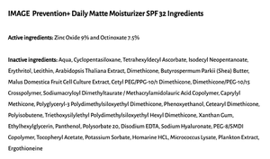 IMAGE Prevention+ Daily Matte Moisturizer (SPF 32)