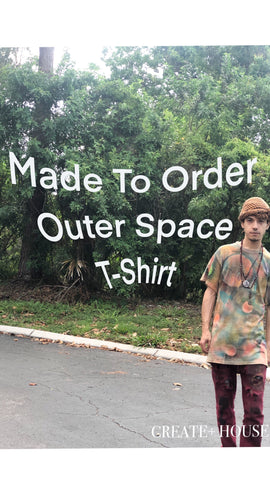 Outer Space | Made To Order T-Shirt