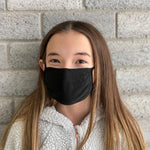 Kid (girl) wearing X-STATIC® mask
