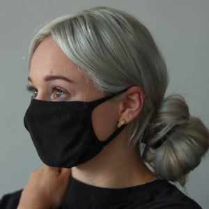 Standard Mask - Black (2-pack)