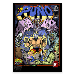 El Puno – Limited Print by RIOT1394