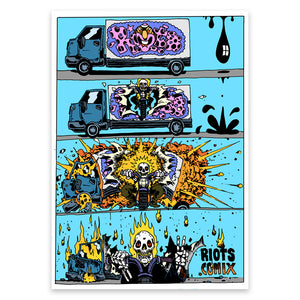 SKULL – Limited Print by RIOT1394
