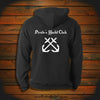 """Crossed Anchors"" Hooded Sweatshirt"