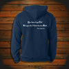 """You have to go Out but you don't have to come Back"" Hooded Sweatshirt"