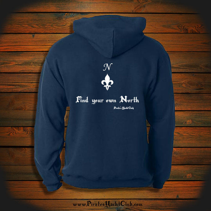 """Find your own North"" Hooded Sweatshirt"
