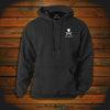 """I am the Reason the Rum is always Gone""  Hooded Sweatshirt"