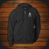 """If you don't like Pirates.. Get out of the Water"" Hooded Sweatshirt"