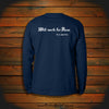 """Will work for Rum"" Long Sleeve"