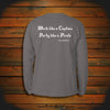 """Work like a Captain, Party like a Pirate"" Long Sleeve"