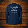 """200 years too Late. But, Our Cannons still Thunder & There's still plenty to Plunder"" Long Sleeve"