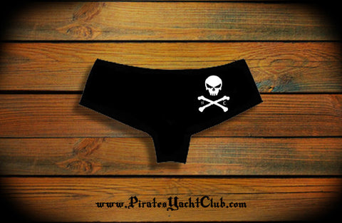 """Skull & Crossbones"" Shorties"
