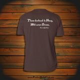 """Those destined to Hang, Will never Drown"" T-Shirt"