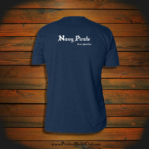 """Navy Pirate"" T-Shirt"