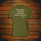 """Pirate's Code: Admit Nothing, Deny Everything, Make Counter Accusations"" T-Shirt"