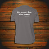 """When the going gets Tough... It's time for a Mutiny"" T-Shirt"