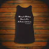"""Money for Nothing, Ships for Free, A Pirate's Life for me"" Tank Top"