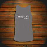 """Mind your Helm"" Tank Top"